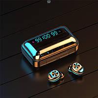 Беспроводные Bluetooth наушники F9 TWS с Power Bank и LED дисплеем