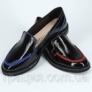 Стильні жіночі шкіряні туфлі, м'які, зручні