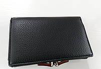 Женский кошелек Balisa C7684 черный  Небольшой женский кошелек с искусственной кожи закрывается на кнопку, фото 3