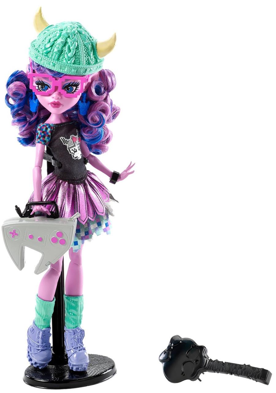 Кукла Кьерсти Троллон Моснтры по обмену (Monster High Brand-Boo Students Kjersti Trollsøn Doll)
