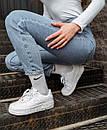 Кожаные женские кроссовки Nike Air Force Pixel White, фото 4