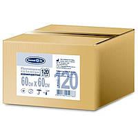 Пелюшки гігієнічні компактні 60х60 см Білосніжка 120 шт. (4820180242788)