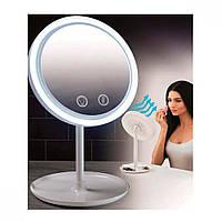 Зеркало с вентилятором для мейкапа COSMO MIRROR LED, фото 1