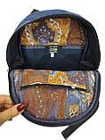 Джинсовий рюкзак Марганець, фото 4