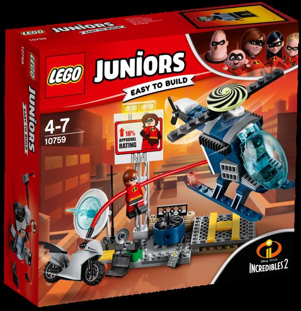 Lego Juniors Еластику Гонитва на Даху