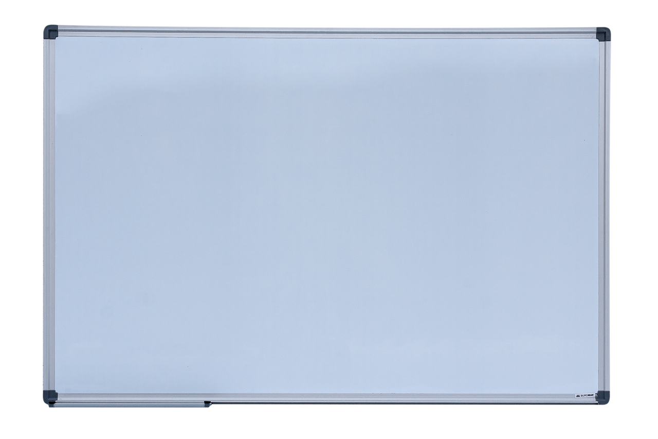 Доска магнитная сухостираемая, JOBMAX, 60х90см, горизонтальная, алюминиевая рамка BM.0002