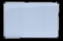 Доска магнитная сухостираемая, JOBMAX, 90х120см, горизонтальная, алюминиевая рамка  BM.0003