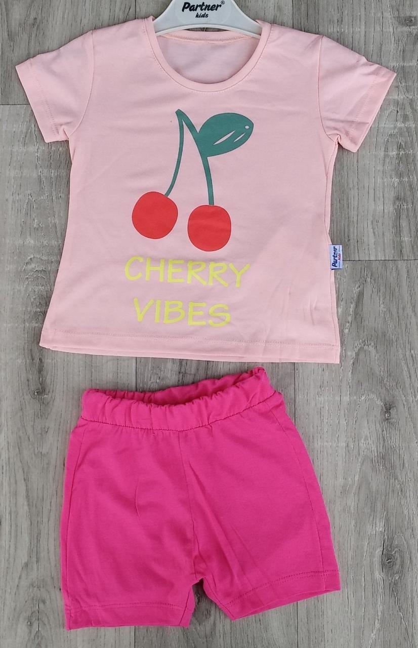 Детский летний костюм 2-5 лет для девочек Турция оптом
