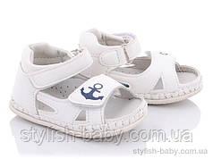 Дитяче літнє взуття. Дитячі пінетки - босоніжки 2021 бренду Clibee - Doremi для хлопчиків (рр. з 17 по 20)