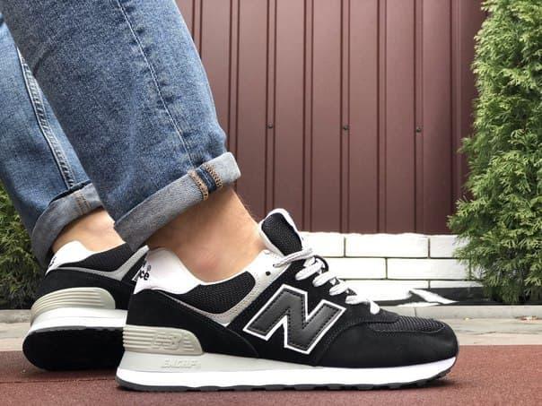 Замшеві чоловічі кросівки New Balance (6 кольорів)