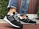 Замшеві чоловічі кросівки New Balance (6 кольорів), фото 3
