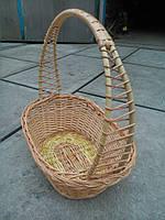 Корзина на подарки плетеная