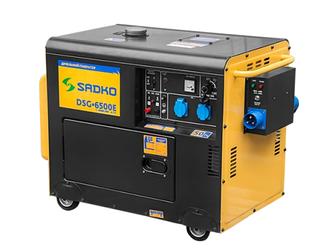 Генератор тока дизельный SADKO DSG 6500E/ATS
