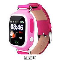 Детские Умные Часы Smart Baby Watch Q90 розовые