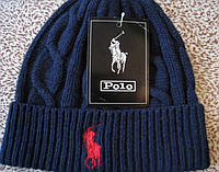Стильные вязаные шапки RALPH LAUREN для взрослых и подростков, фото 1