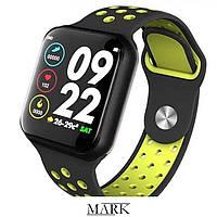 Смарт-годинник c пульсометром Z7 Fit Black and green