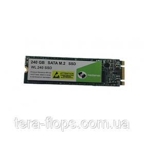 SSD M.2 накопитель Mediamax 240GB (WL 240 SSD) Новый