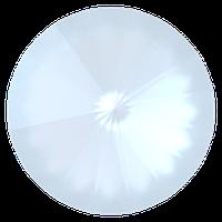 Пришивные риволи в цапах Preciosa (Чехия) ss47 White Opal/платина