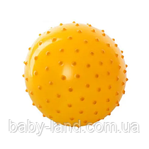 Мяч массажный MS 0021 3 дюйма (Жёлтый)