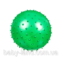 Мяч массажный MS 0021 3 дюйма (Зелёный)