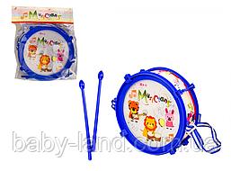 Барабан дитячий 166-20 (Синій)