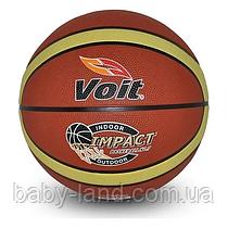 М'яч баскетбольний гумовий BT-BTB-0028 розмір 7 (Коричневий)