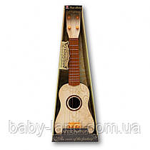 Гитара детская 54см  898-17-18  4 струни  (898-17-2)