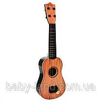 Гитара детская 54см  898-17-18  4 струни  (898-18-1)