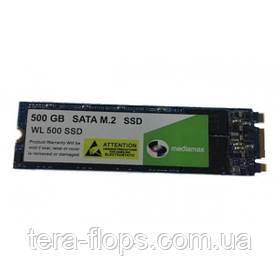 SSD M.2 накопитель Mediamax 500GB (WL 500 SSD M.2) Новый