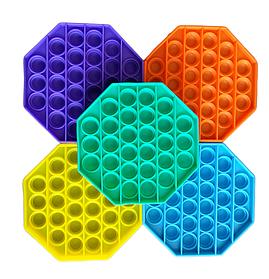 Сенсорна іграшка антистрес Pop it (поп іт) восьмикутник