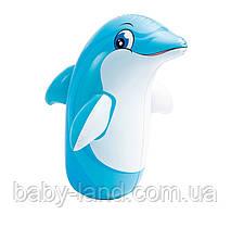 Надувная фигура животного для плавания 44669, 3 вида (Дельфин)