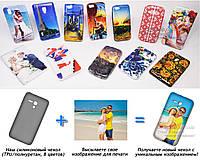 Печать на чехле для Alcatel 5038D OneTouch Pop D5 (Cиликон/TPU)