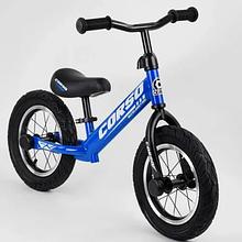 """Велобіг від """"CORSO"""" 55408, сталева рама, надувні колеса 12"""" , алюмінієві диски"""