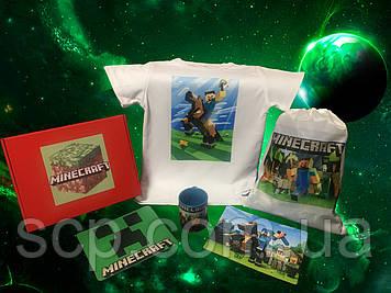 Подарочный набор Minecraft (Майнкрафт)