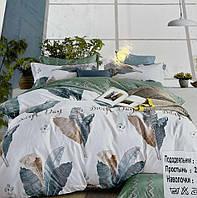 """Двуспальное постельное белье """"Колоко"""" - Листья пальмы"""
