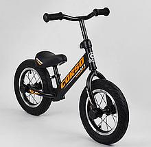 """Велобіг від """"CORSO"""" 69280, сталева рама, надувні колеса 12"""" , алюмінієві диски"""