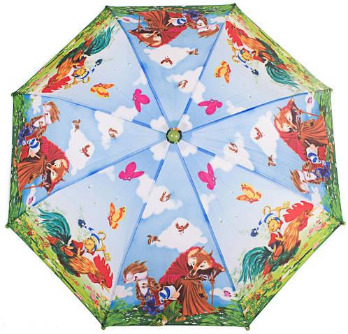 Облегченный детский зонт-трость механический ZEST (ЗЕСТ) Z21565-6 Буратино