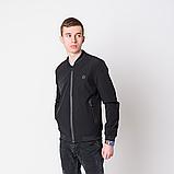 Чоловіча демісезонна куртка, чорного кольору Philipp Plein., фото 3