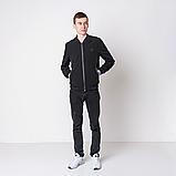Чоловіча демісезонна куртка, чорного кольору Philipp Plein., фото 8