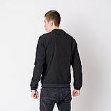 Чоловіча демісезонна куртка, чорного кольору Philipp Plein., фото 2