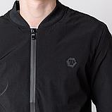 Чоловіча демісезонна куртка, чорного кольору Philipp Plein., фото 7