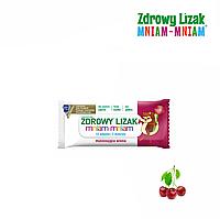 "Леденец Zdrowy Lizak ""Mniam-Mniam"" (вишня), 1 шт, фото 1"