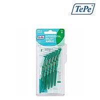 Межзубная щетка TePe Angle угловая, зеленая (0,8мм), 6 шт, фото 1