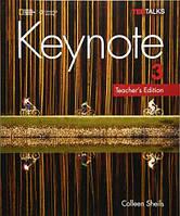 American Keynote 3 Teacher's Edition (author: Colleen Sheils) Книга для учителя