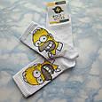 Мультяшные носки с принтом Симпсон унисекс демисезонные высокие молодежные, фото 4