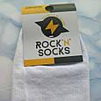 Мультяшные носки с принтом Симпсон унисекс демисезонные высокие молодежные, фото 5