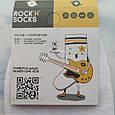 Мультяшные носки с принтом Симпсон унисекс демисезонные высокие молодежные, фото 6