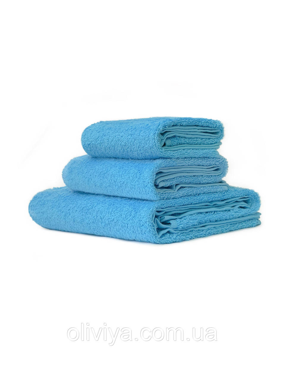 Рушники для готелів блакитний
