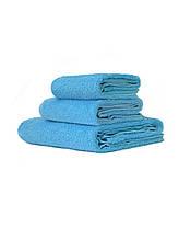 Полотенца для гостиниц голубой