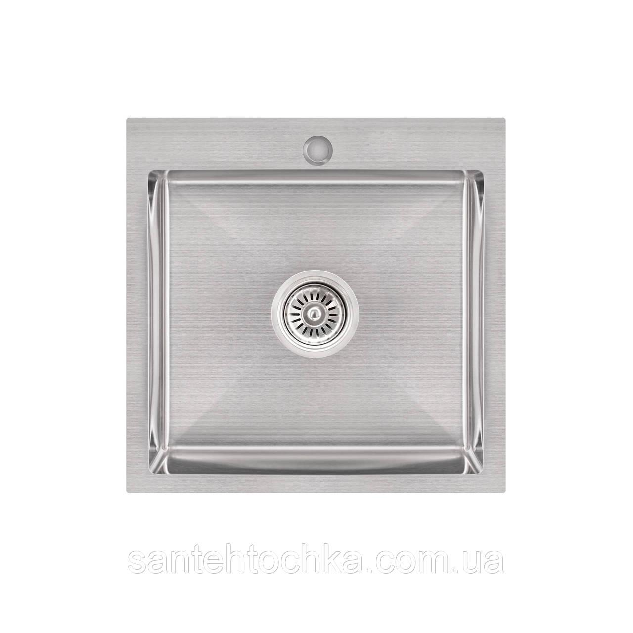 KRP Gebürstet-5050HM (3.0/1.0 мм) 215  інтегрована кухонна мойка